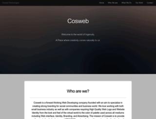 cosweb.in screenshot