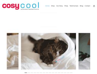 cosycool-allseasonsduvets.co.uk screenshot