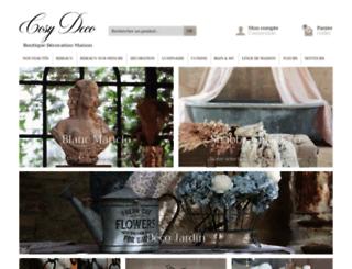 cosydeco.com screenshot