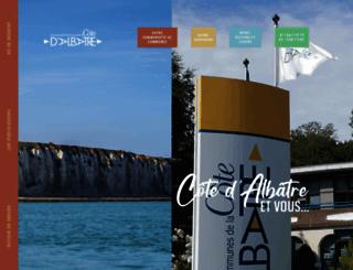 cote-albatre.fr screenshot