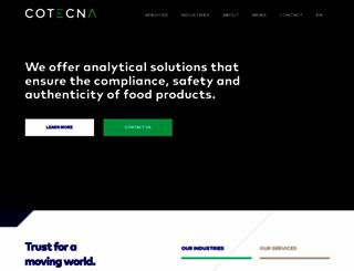 cotecna.com screenshot