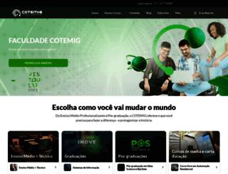 cotemig.com.br screenshot