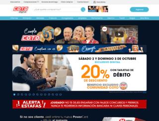 cotodigital.com.ar screenshot
