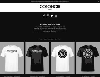 cotonoir.com screenshot