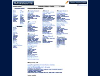 cotopaxi.wanuncios.com screenshot