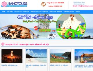 cotoquanlan.hanotours.com screenshot