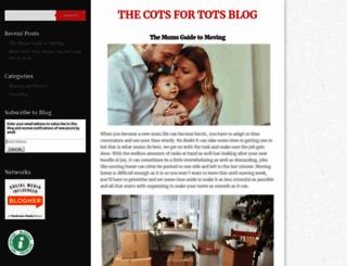 cots4tots.com.au screenshot