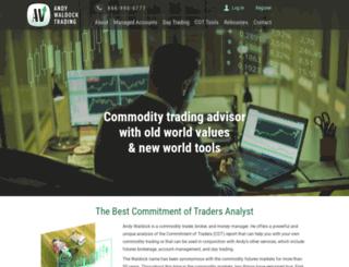cotsignals.com screenshot