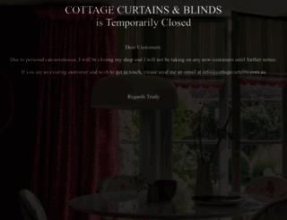 cottagecurtains.com.au screenshot