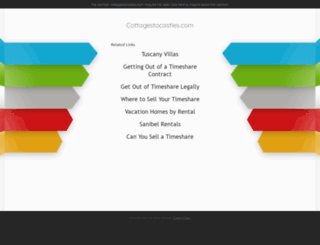 cottagestocastles.com screenshot