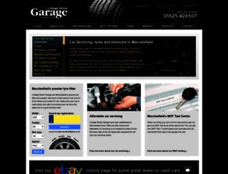 cottagestreetgarage.co.uk screenshot