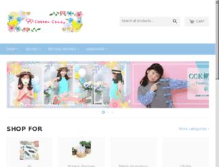 cottoncandykids.net screenshot