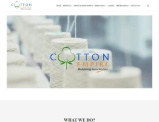 cottonempire.net screenshot