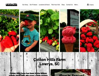 cottonhillsfarm.com screenshot