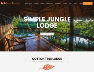 cottontreelodge.com screenshot
