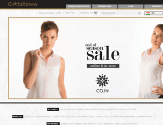 cottstownfashions.com screenshot