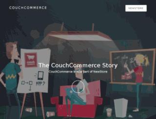 couchcommerce.com screenshot