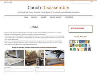 couchdisassembly.com screenshot