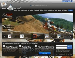 couchracers.com screenshot