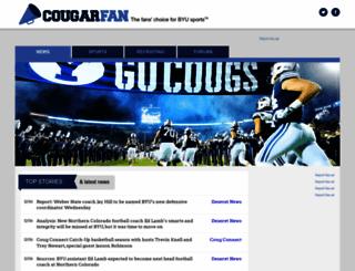 cougarfan.com screenshot