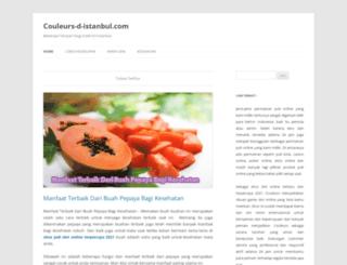 couleurs-d-istanbul.com screenshot