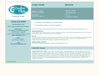 coulterclinic.com screenshot