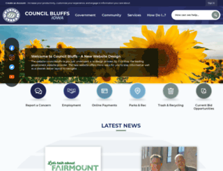 councilbluffs-ia.gov screenshot