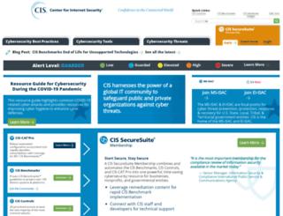 counciloncybersecurity.org screenshot