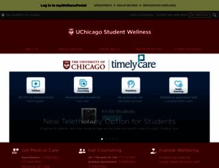 counseling.uchicago.edu screenshot