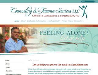 counselingandtraumaservices.com screenshot