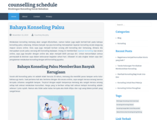 counsellingschedule.in screenshot