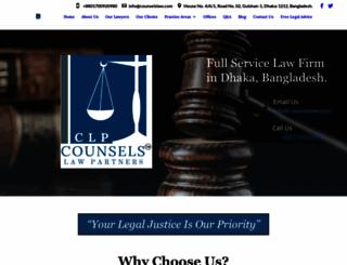 counselslaw.com screenshot