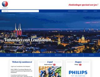 countdown.nl screenshot