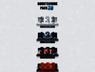 countdownspack.artrow.net screenshot