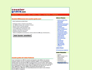 counter-gratis.com screenshot