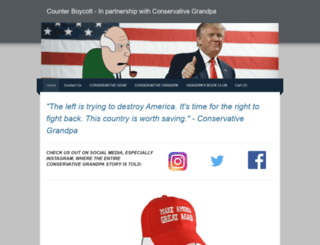counterboycott.org screenshot