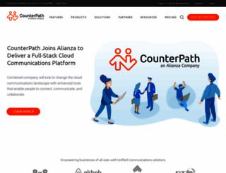 counterpath.com screenshot