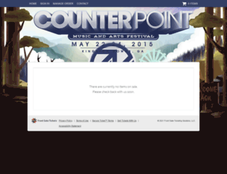 counterpointfestival.frontgatetickets.com screenshot