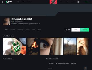 countesskm.deviantart.com screenshot