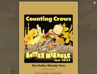 countingcrows.com screenshot