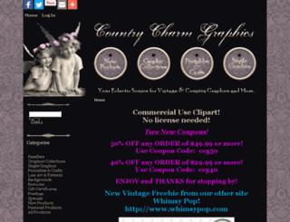 countrycharmgraphics.com screenshot