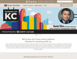 countryclubbank.com screenshot