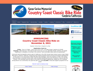 countrycoastclassic.org screenshot