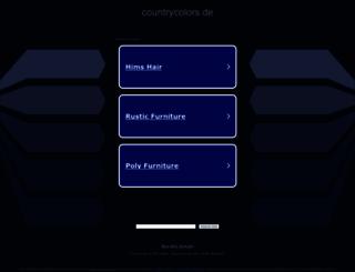 countrycolors.de screenshot