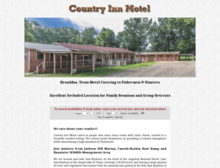 countryinnmotel.net screenshot