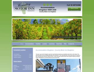 countrymotorinn.com.au screenshot