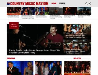 countrymusicnation.com screenshot