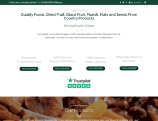 countryproducts.co.uk screenshot
