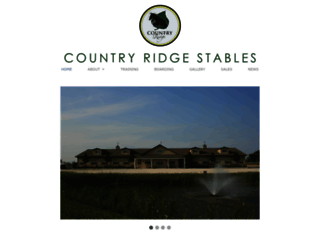 countryridgestables.com screenshot