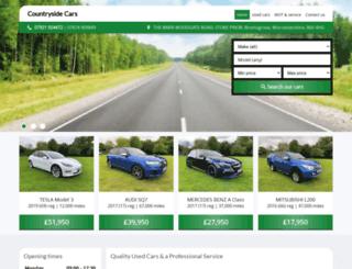 countryside-cars.co.uk screenshot